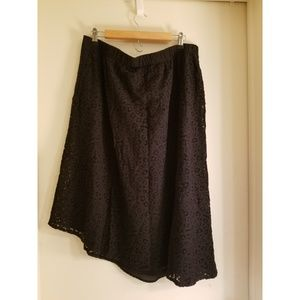 Mossimo Asymmetrical Lace Skirt